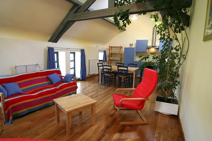 Sala de estar Alquiler Casa rural 13238 Chimay