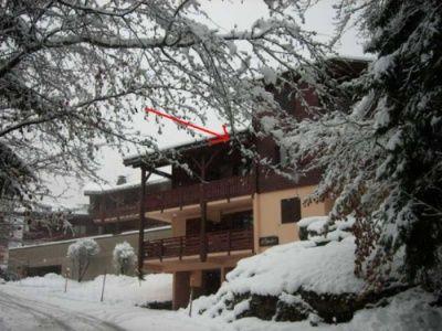 Vistas exteriores del alojamiento Alquiler Apartamento 1408 Les Houches