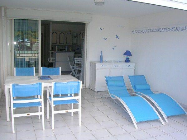 Veranda (Porche) Alquiler Apartamento 14725 Sainte Anne (Guadalupe)