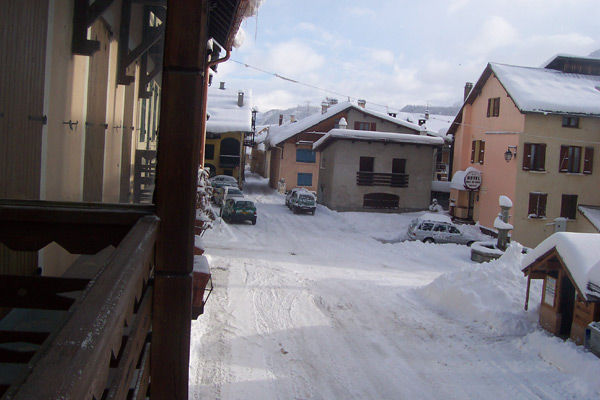 Vistas desde el balcón Alquiler Casa 16964 Montgenevre