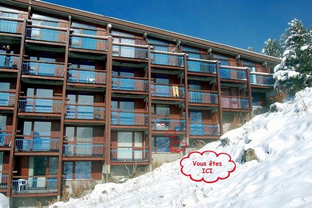 Vistas exteriores del alojamiento Alquiler Estudio 211 Les Arcs