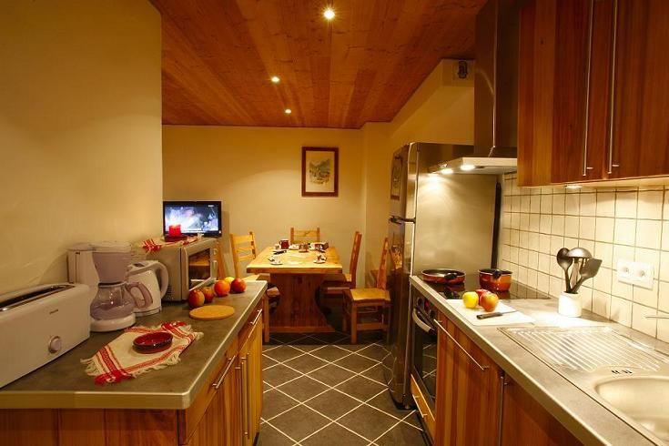 Cocina americana Alquiler Apartamento 27146 Valloire