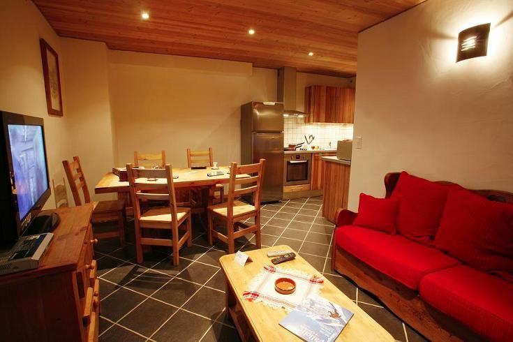 Sala de estar Alquiler Apartamento 27146 Valloire
