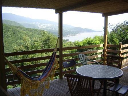 Terraza Alquiler Casa rural 29739 Bouillante