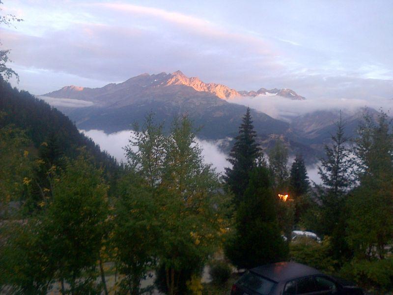 Vistas desde el alojamiento Alquiler Chalet 3290 Valfréjus