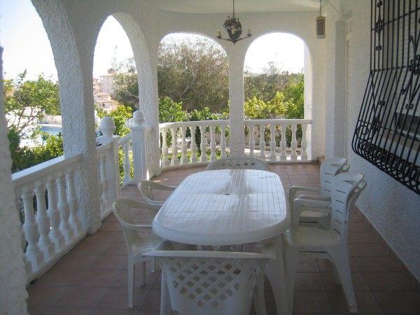 Terraza Alquiler Villa 39657 Torrevieja
