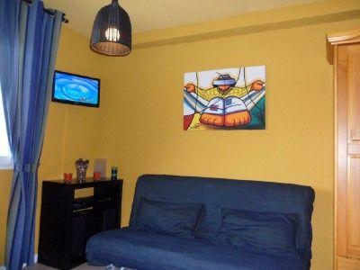 Sala de estar Alquiler Estudio 40610 Arette La Pierre Saint Martin