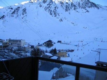 Vistas desde el balcón Alquiler Estudio 4288 La Mongie