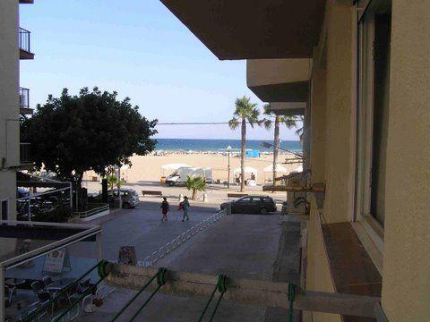Vistas desde el balcón Alquiler Estudio 43383 Torredembarra