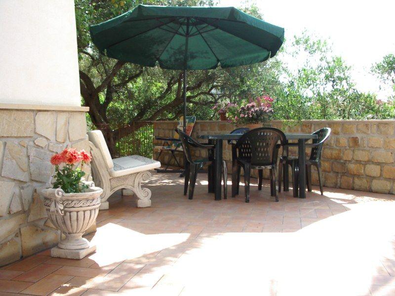 Terraza Alquiler Villa 54358 Capo d'Orlando