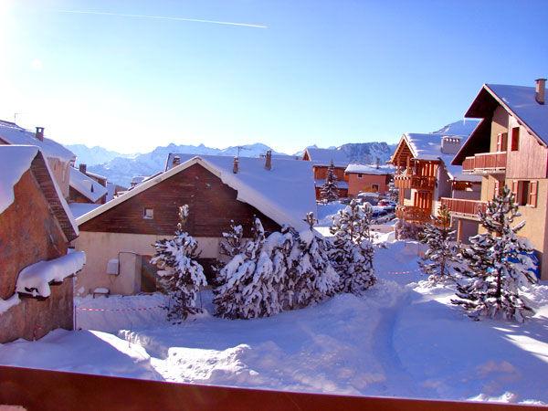 Vistas desde el alojamiento Alquiler Chalet 57805 Montgenevre