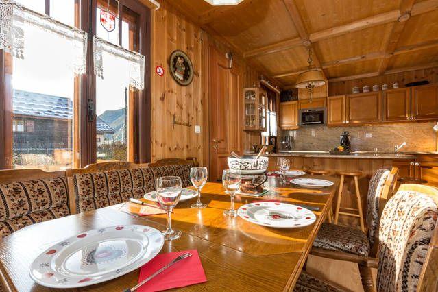 Comedor Alquiler Apartamento 647 Chamonix Mont-Blanc