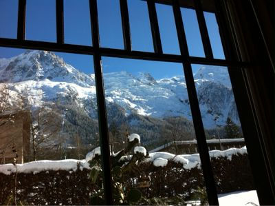 Vistas desde el alojamiento Alquiler Apartamento 647 Chamonix Mont-Blanc