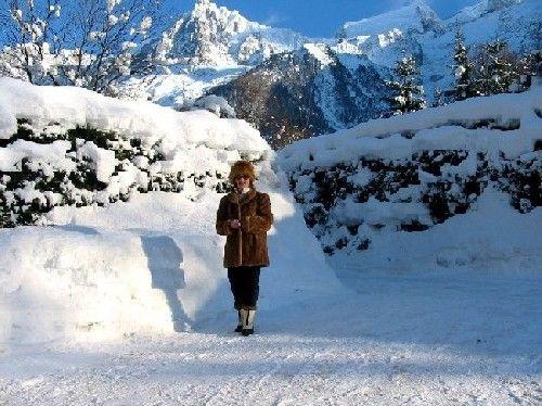 Vistas desde el alojamiento Alquiler Apartamento 648 Chamonix Mont-Blanc