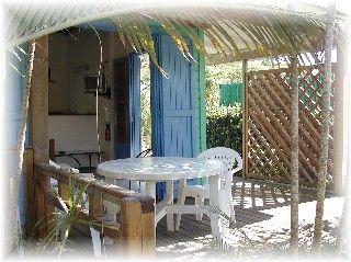Veranda (Porche) Alquiler Bungalow 8023 Sainte Anne (Guadalupe)
