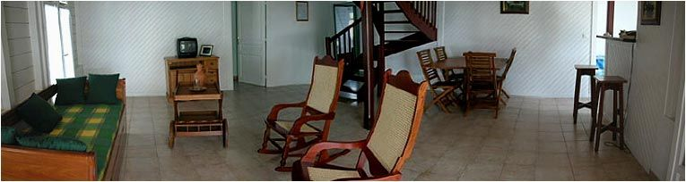 Salón Alquiler Villa 8123 Sainte Anne (Martinique)