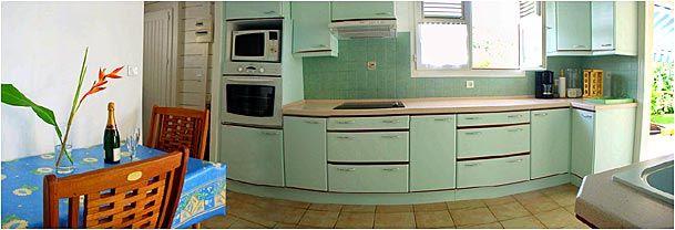 Cocina independiente Alquiler Villa 8123 Sainte Anne (Martinique)