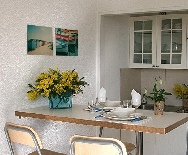 Kitchenette Alquiler Estudio 8501 Saint Raphael
