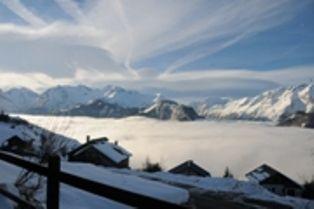 Vistas desde la terraza Alquiler Apartamento 81042 Alpe d'Huez