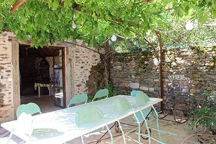 Terraza 1 Alquiler Casa rural 79870 Rocamadour