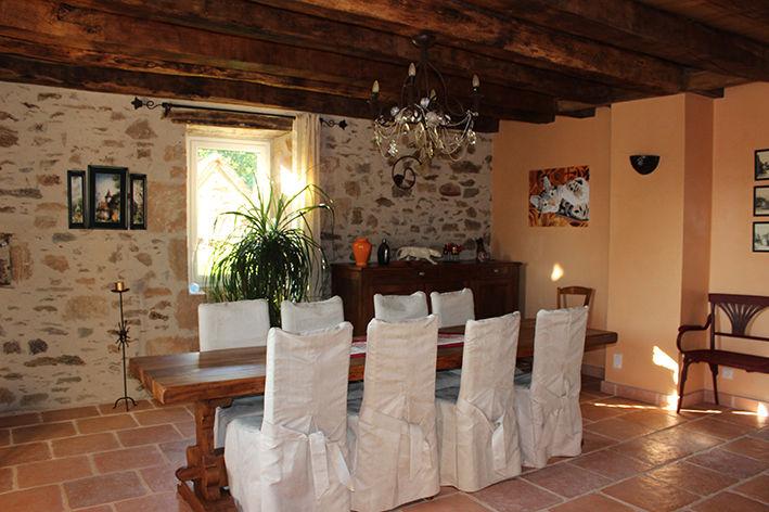 Comedor 2 Alquiler Casa rural 79870 Rocamadour