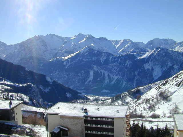 Vistas desde la terraza Alquiler Apartamento 64 Alpe d'Huez