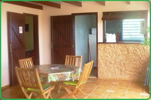 Terraza Alquiler Casa rural 71841 Sainte Anne (Guadalupe)