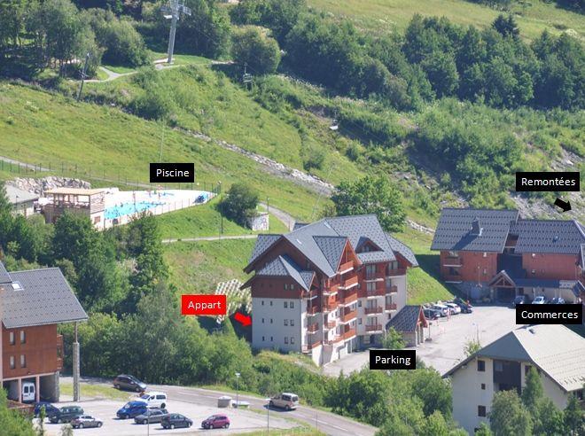 Vistas exteriores del alojamiento Alquiler Apartamento 73582 Saint François Longchamp