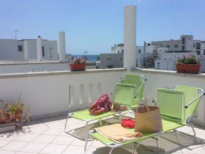 Terraza Alquiler Apartamento 109843 Santa Maria di Leuca