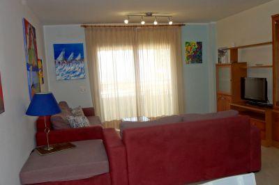 Sala de estar Alquiler Apartamento 71383 Adeje