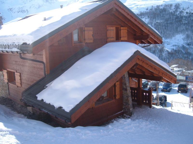 Vistas exteriores del alojamiento Alquiler Chalet 73309 Les Menuires