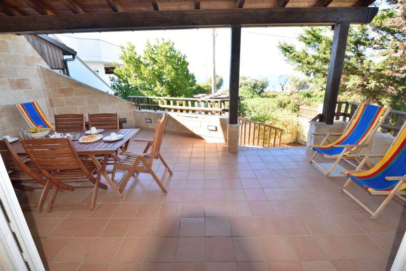 Terraza 1 Alquiler Villa 93054 Gallipoli