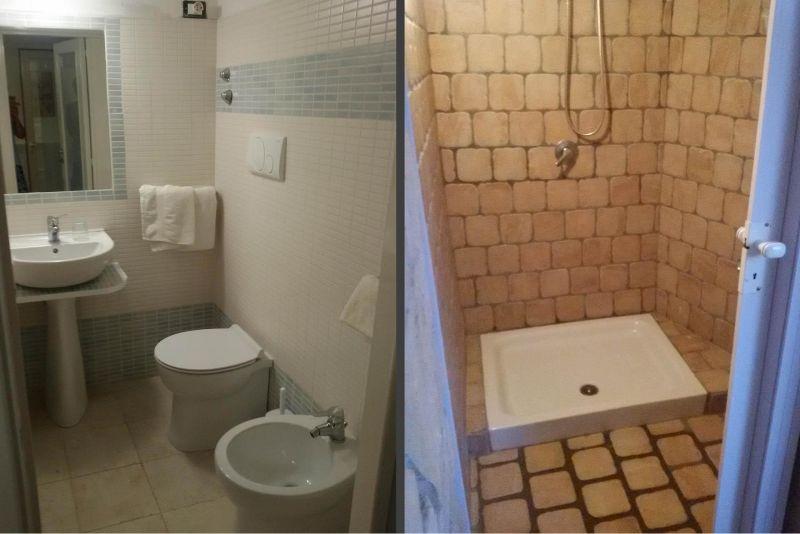 cuarto de baño 2 Alquiler Villa 93054 Gallipoli