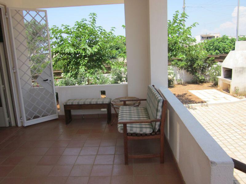 Terraza 2 Alquiler Villa 93054 Gallipoli