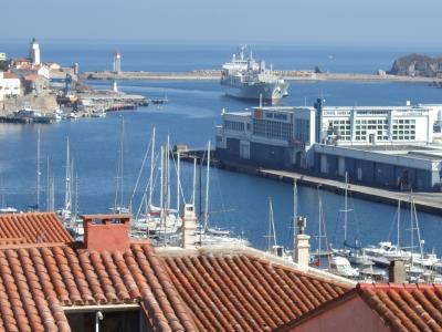 Vistas desde la terraza Alquiler Estudio 94422 Collioure