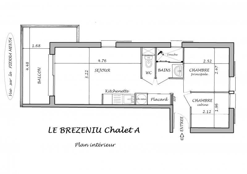 Plano del alojamiento Alquiler Apartamento 114616 Les Saisies