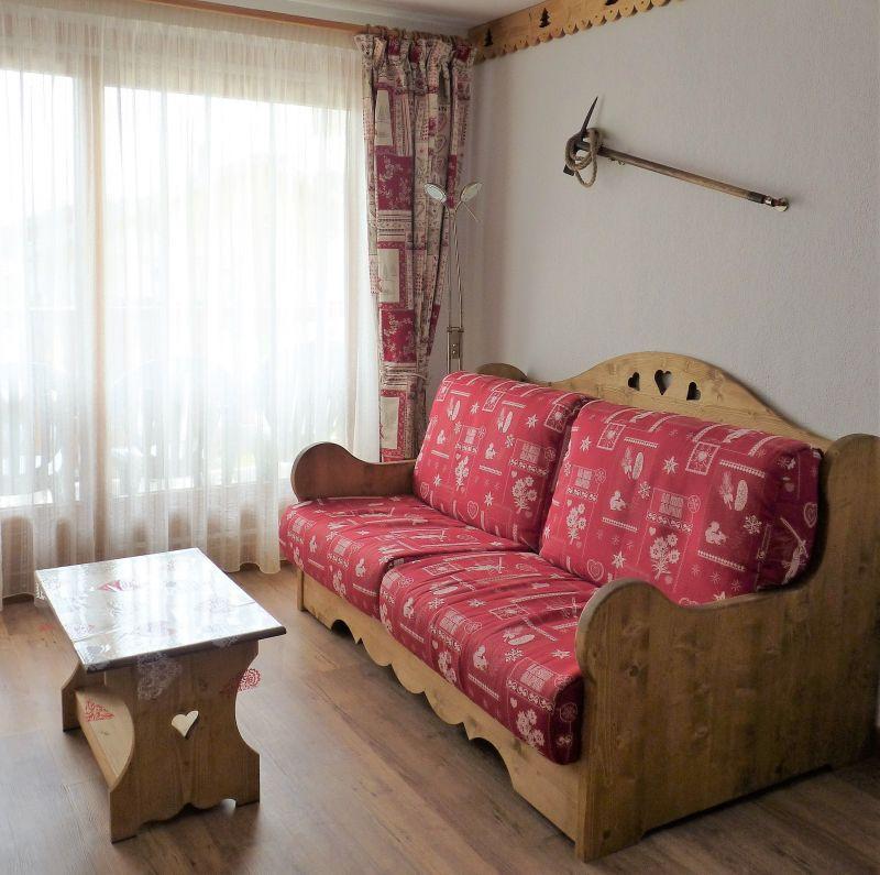 Sala de estar Alquiler Apartamento 114616 Les Saisies