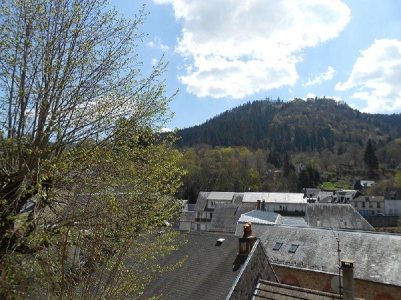 Vistas desde el balcón Alquiler Apartamento 115202 La Bourboule