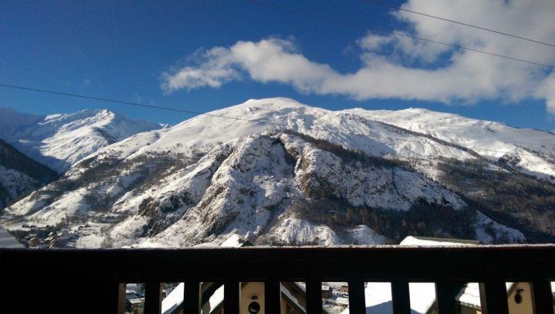 Vistas desde el balcón Alquiler Apartamento 117722 Valloire