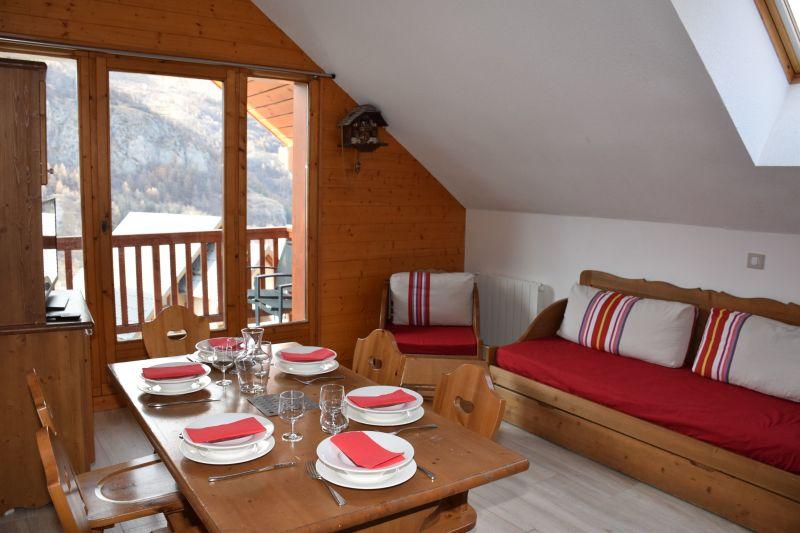 Sala de estar Alquiler Apartamento 117722 Valloire