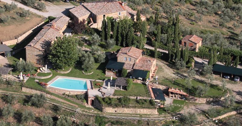 Vistas desde el alojamiento Alquiler Casa rural 65957 Siena