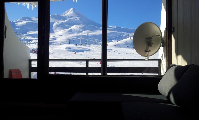 Vistas desde el alojamiento Alquiler Estudio 81249 Arette La Pierre Saint Martin