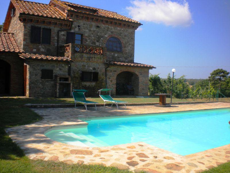 Piscina Alquiler Casa 87280 Cortona