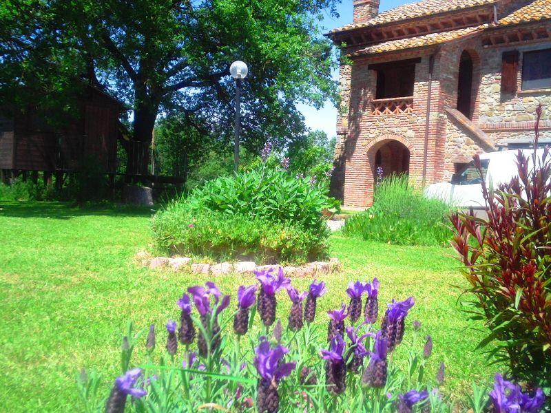 Jardín Alquiler Casa 87280 Cortona