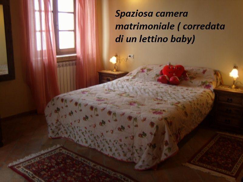 dormitorio 1 Alquiler Casa 87280 Cortona