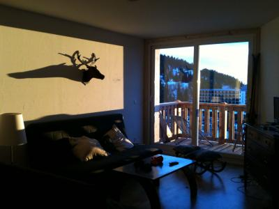 Sala de estar Alquiler Apartamento 91742 Chamrousse