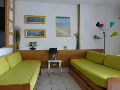 Sala de estar Alquiler Estudio 93702 Biarritz