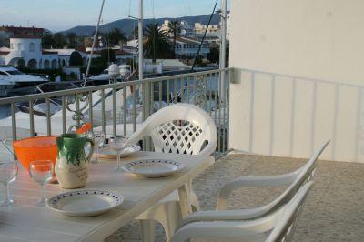Vistas desde la terraza Alquiler Apartamento 107806 Ampuriabrava