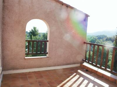 Vistas desde la terraza Alquiler Casa 91124 Le Boulou