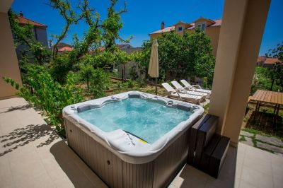 Terraza Alquiler Apartamento 114346 Trogir